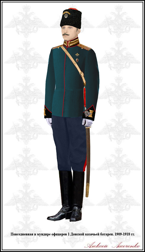 Георгиевские части российской армии 1916-1917